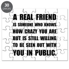 Real Friend Crazy Puzzle