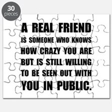 Real Friend Crazy Puzzle