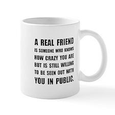 Real Friend Crazy Mugs