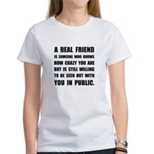 Real Friend Crazy T-Shirt