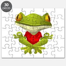 Yoga Frog Puzzle