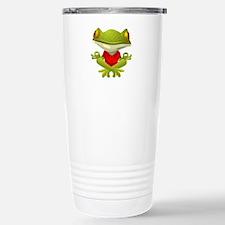 Yoga Frog Travel Mug