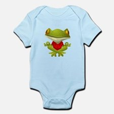 Yoga Frog Body Suit