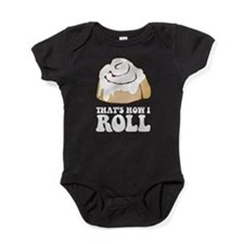 How I Roll (Cinnamon Roll) Baby Bodysuit
