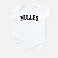 MULLEN (curve-black) Infant Bodysuit