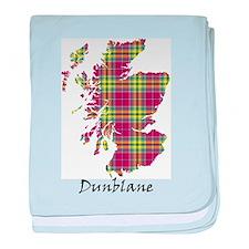 Map - Dunblane dist. baby blanket
