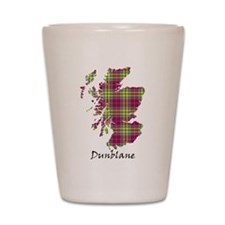 Map - Dunblane dist. Shot Glass