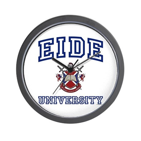 EIDE University Wall Clock