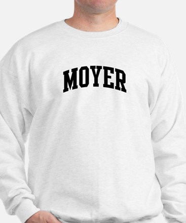 MOYER (curve-black) Sweatshirt