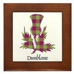 Thistle - Dunblane dist. Framed Tile