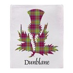 Thistle - Dunblane dist. Throw Blanket