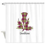Thistle - Dunblane dist. Shower Curtain