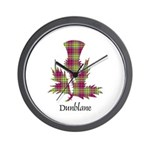 Thistle - Dunblane dist. Wall Clock