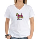 Terrier - Dunblane dist. Women's V-Neck T-Shirt
