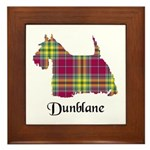 Terrier - Dunblane dist. Framed Tile