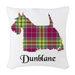 Terrier - Dunblane dist. Woven Throw Pillow