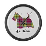 Terrier - Dunblane dist. Large Wall Clock