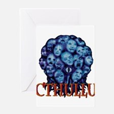 Cthullu Is Lord Greeting Cards