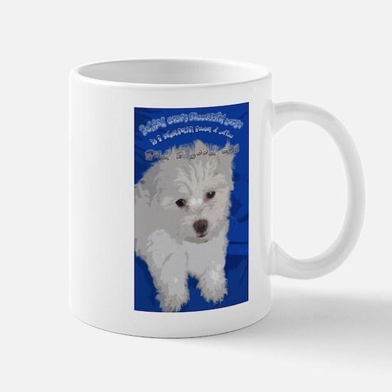 and a dog Mugs