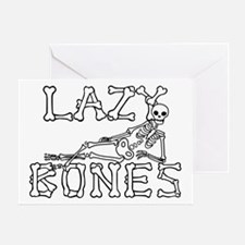 Lazy Bones Greeting Cards