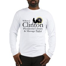 Clinton Library & Massage Long Sleeve T-Shirt