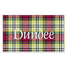 Tartan - Dundee dist. Decal