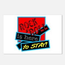 Rock And Roll Is here Postcards (Package of 8)