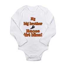 Cute Dirt bikes Long Sleeve Infant Bodysuit