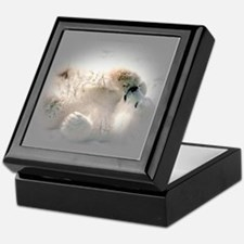 Baby polar bear Keepsake Box