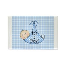 It's a Boy (white) Rectangle Magnet
