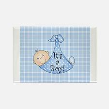 It's a Boy (white) Rectangle Magnet