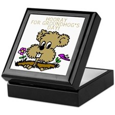 HOORAY FOR GOUNDHOG'S DAY! Keepsake Box