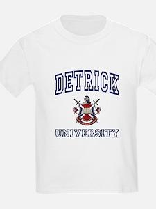 DETRICK University T-Shirt