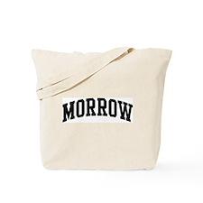 MORROW (curve-black) Tote Bag