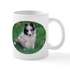 Blue merle and white Sheltie Mug