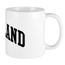 STRICKLAND (curve-black) Coffee Mug