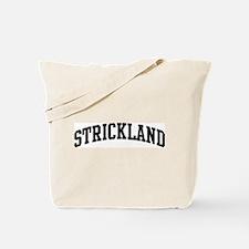 STRICKLAND (curve-black) Tote Bag