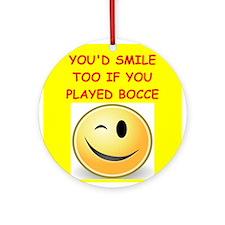 bocce Ornament (Round)