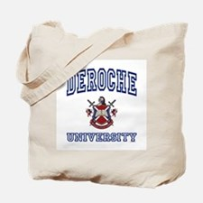 DEROCHE University Tote Bag