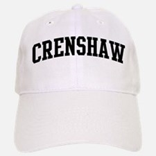 CRENSHAW (curve-black) Baseball Baseball Cap
