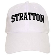STRATTON (curve-black) Baseball Cap