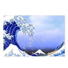Surf's Up! Hokusai Great Postcards (Package of 8)