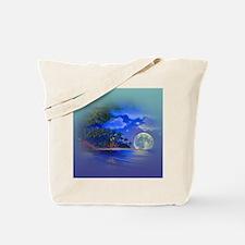 Cute Moon Tote Bag