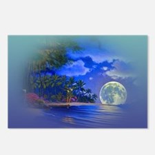 Cool Moon Postcards (Package of 8)