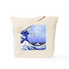 Surf's Up! Hokusai Great Wave Tote Bag