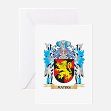 Matias Coat of Arms - Family Crest Greeting Cards