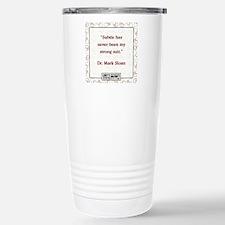 SUBTLE HAS NEVER Travel Mug