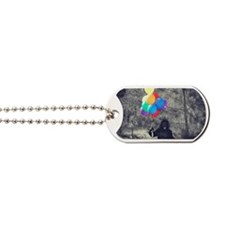 Cute Monkey birthday Dog Tags