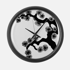 Bonsai.png Large Wall Clock