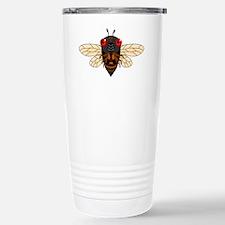 Cute Cartoon Cicada Travel Mug